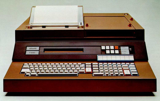 Olivetti P6060 for Telegraphic Messages Authentication