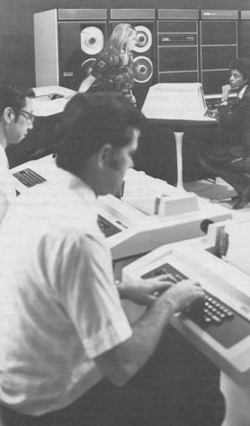 Computer Room of late 1970s